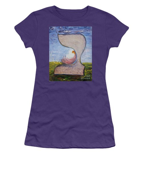 Biet - Meditation In Oil Women's T-Shirt (Athletic Fit)