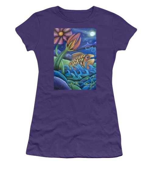 Big Fish Women's T-Shirt (Athletic Fit)