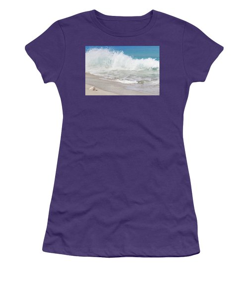 Bimini Wave Sequence 1 Women's T-Shirt (Athletic Fit)