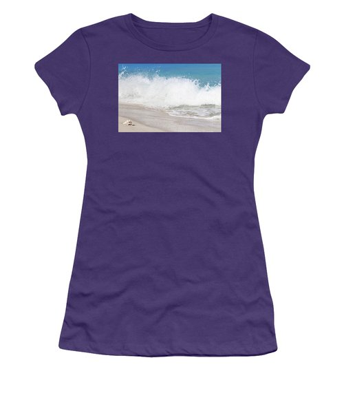 Bimini Wave Sequence 3 Women's T-Shirt (Athletic Fit)