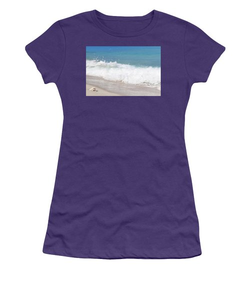 Bimini Wave Sequence 5 Women's T-Shirt (Athletic Fit)