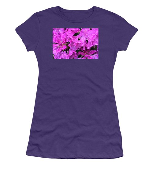 Blooming Rhododendron Women's T-Shirt (Athletic Fit)