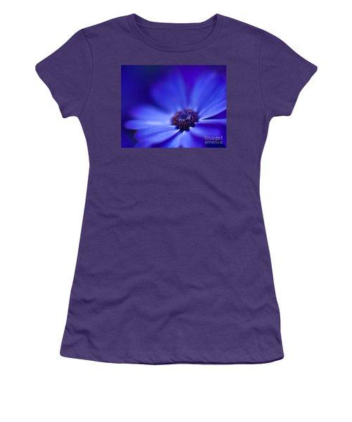 Blue Women's T-Shirt (Junior Cut) by Mike Reid