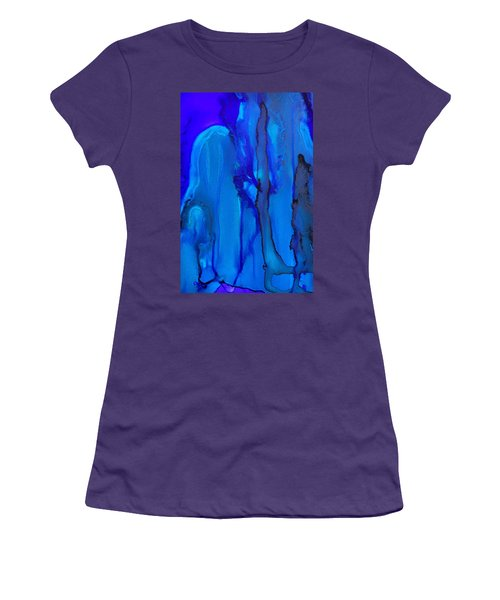 Blue Series  Women's T-Shirt (Athletic Fit)