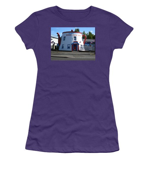 Bob's Java Jive Coffee Pot Women's T-Shirt (Athletic Fit)