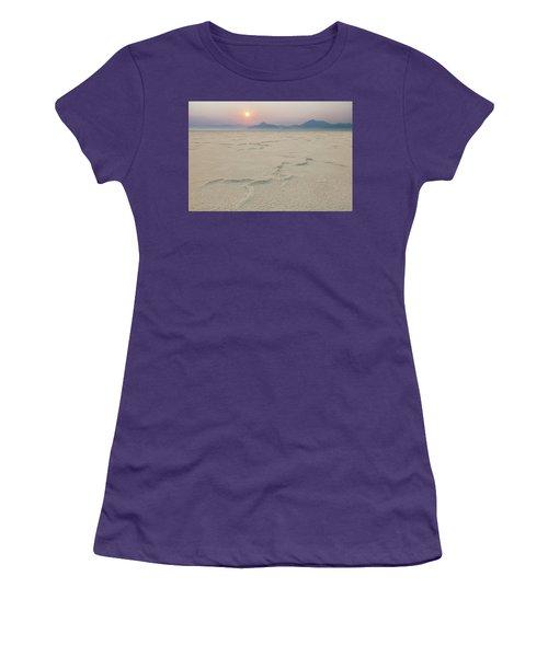 Bonneville Salt Flats Women's T-Shirt (Athletic Fit)