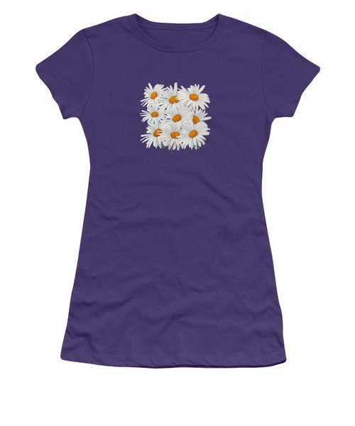 Bouquet Of White Daisies Women's T-Shirt (Athletic Fit)