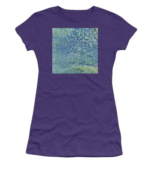 Breeze On Ocean Waves Women's T-Shirt (Athletic Fit)