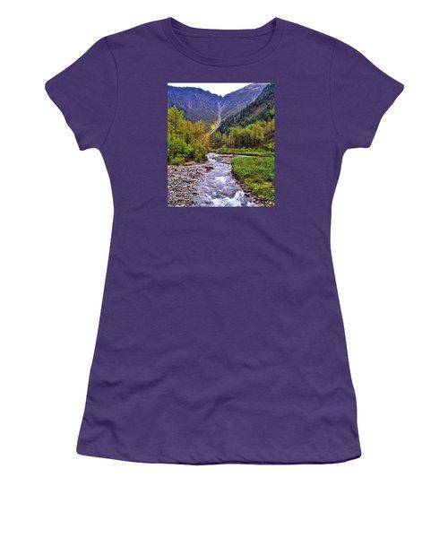 Brook Women's T-Shirt (Junior Cut) by Martin Cline