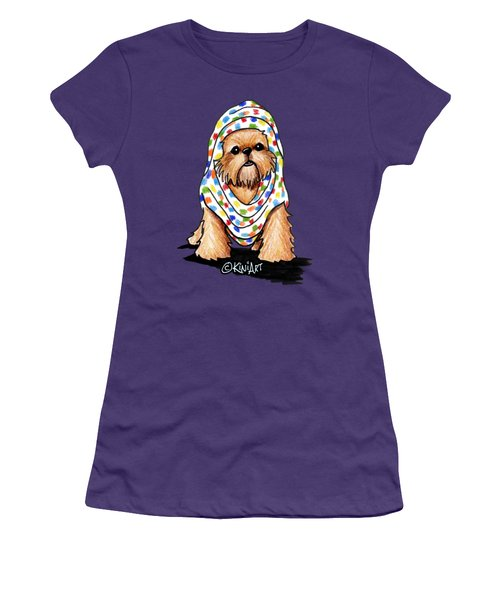 Brussels Griffon Beauty Women's T-Shirt (Athletic Fit)