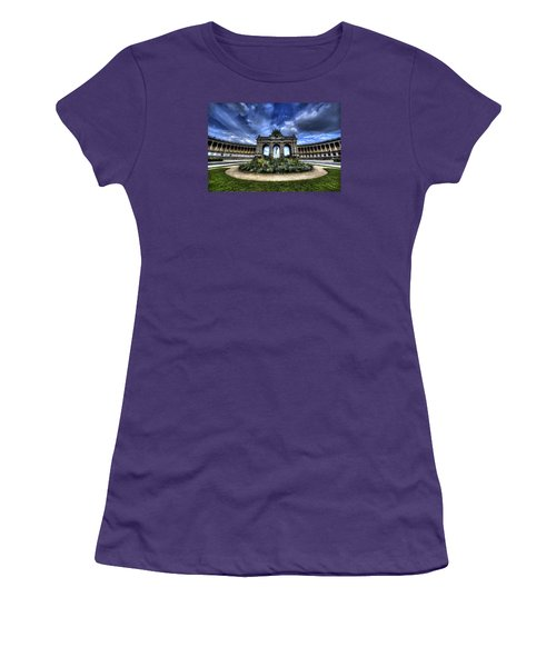 Women's T-Shirt (Junior Cut) featuring the photograph Brussels Parc Du Cinquantenaire by Shawn Everhart