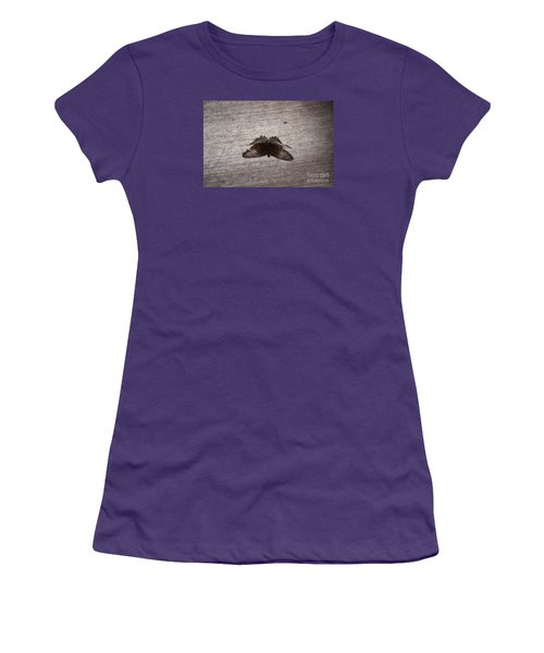 Butterfly See Through Women's T-Shirt (Athletic Fit)