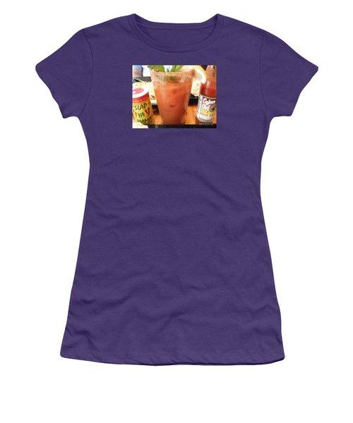 Cajun Mama Mary Women's T-Shirt (Junior Cut) by GJ Glorijean
