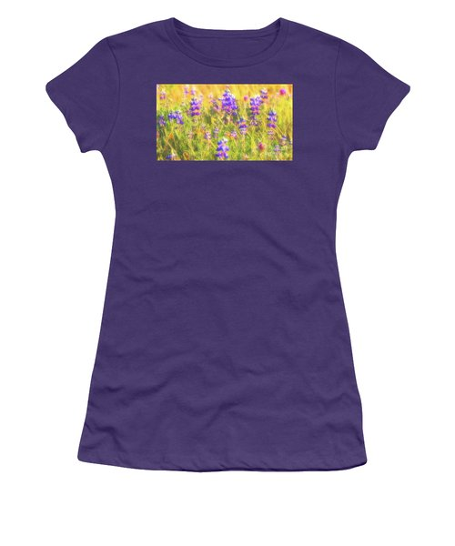 California Lupines Redux Women's T-Shirt (Athletic Fit)