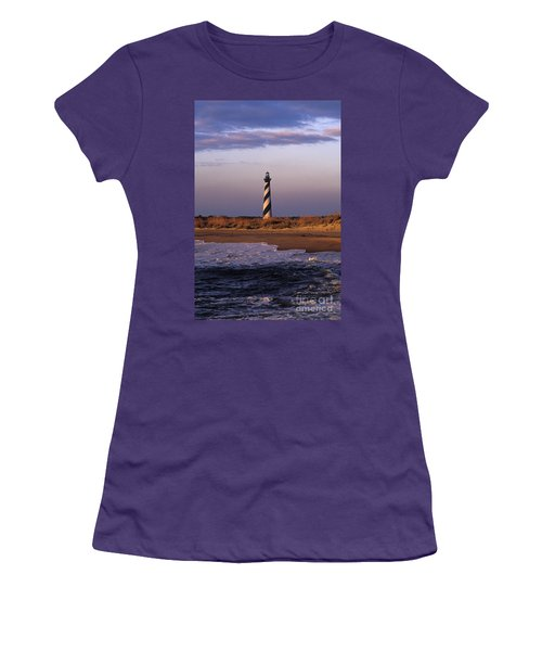 Cape Hatteras Lighthouse At Sunrise - Fs000606 Women's T-Shirt (Athletic Fit)