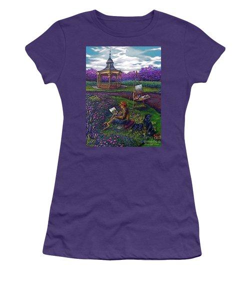 Capturing The Light Women's T-Shirt (Junior Cut) by Linda Simon