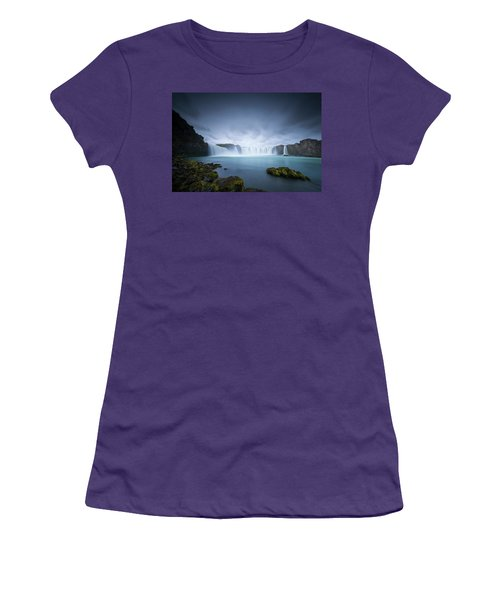 Cascade Of The Gods Women's T-Shirt (Athletic Fit)