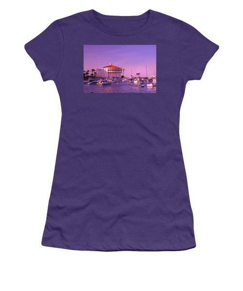 Catalina Casino Women's T-Shirt (Junior Cut) by Marie Hicks