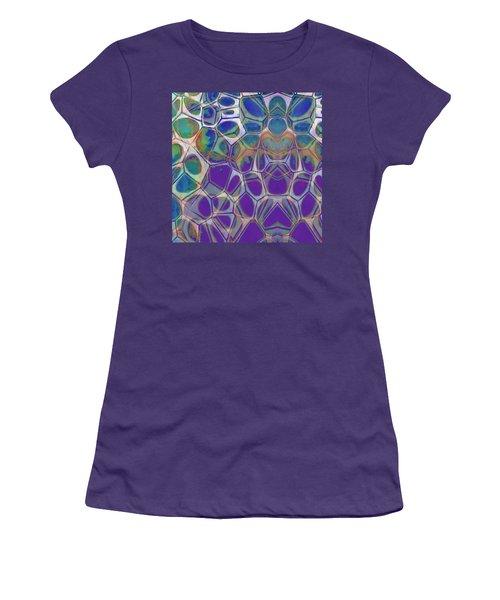 Cell Abstract 17 Women's T-Shirt (Junior Cut) by Edward Fielding