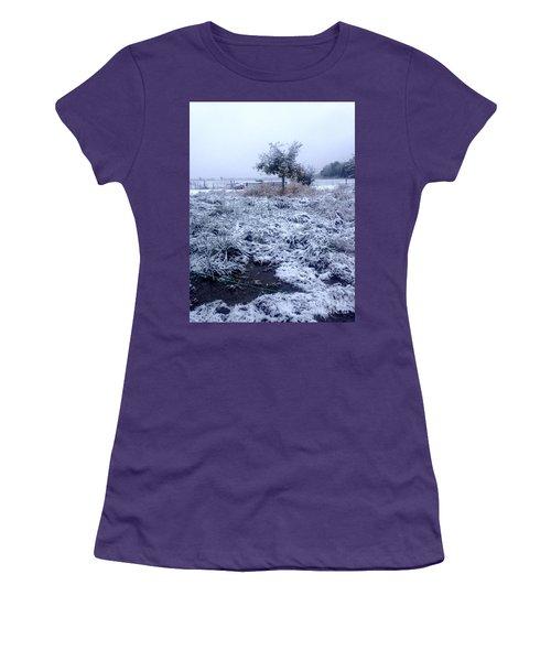 Cold Blue Women's T-Shirt (Athletic Fit)
