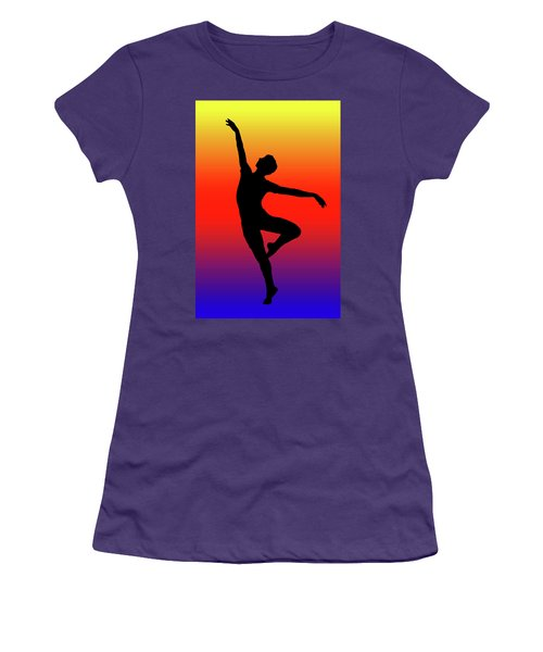 Colors Dance Women's T-Shirt (Athletic Fit)