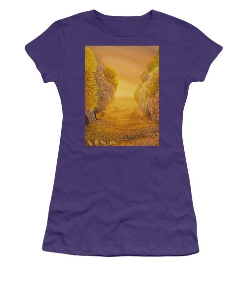 Coral Dawn Women's T-Shirt (Athletic Fit)