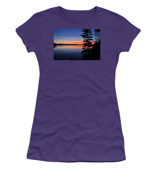 Cottage Sunset Women's T-Shirt (Junior Cut) by Keith Armstrong
