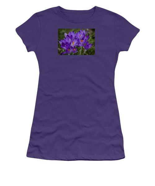 Crocus Cluster Women's T-Shirt (Athletic Fit)