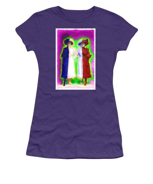 Cross Dressers Women's T-Shirt (Junior Cut) by Gerhardt Isringhaus