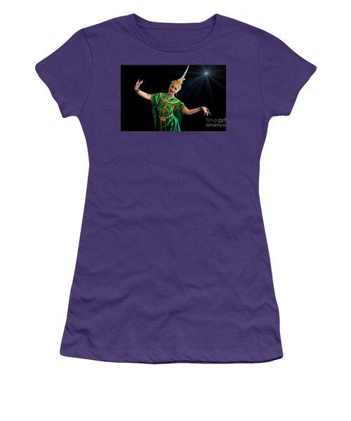 Cultural Thai Dance Women's T-Shirt (Athletic Fit)