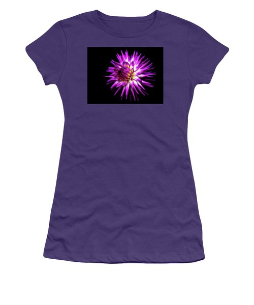 Dahlia Starburst Women's T-Shirt (Athletic Fit)