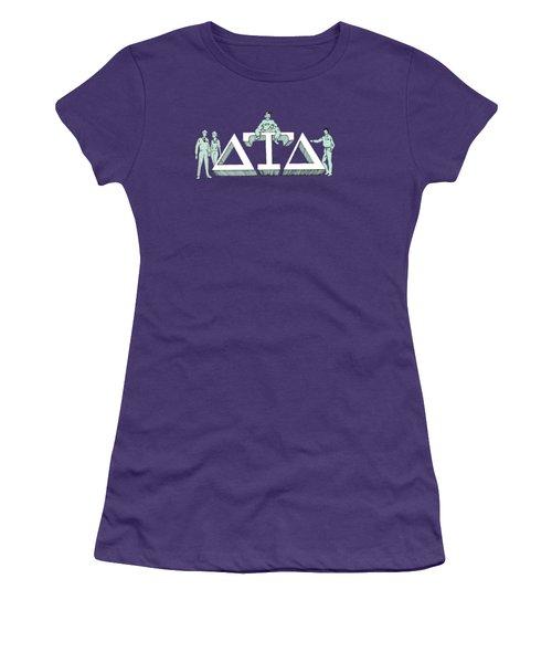 Delts Women's T-Shirt (Junior Cut) by Julio Lopez