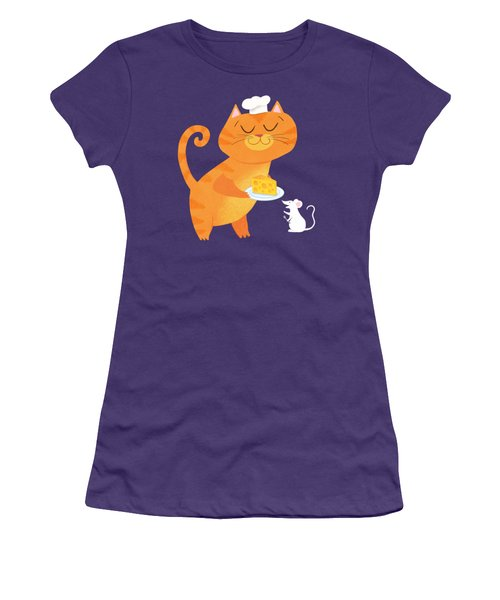 Dinner For Two Women's T-Shirt (Athletic Fit)