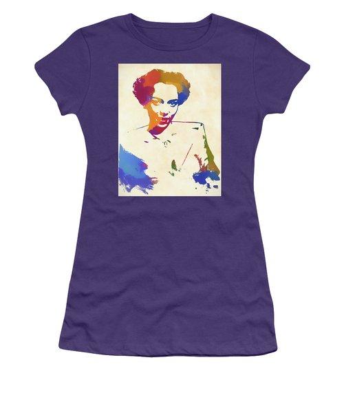 Dorothy Dandridge Watercolor Women's T-Shirt (Athletic Fit)