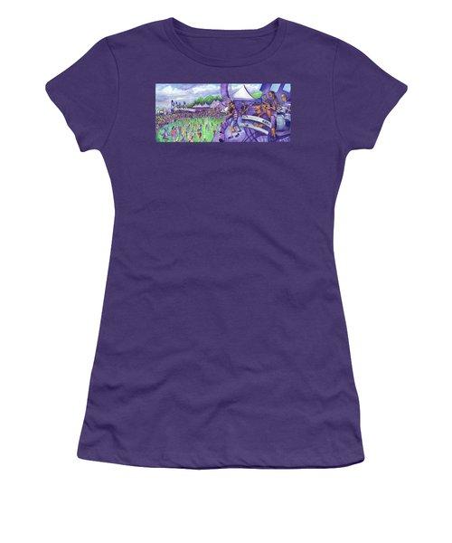 Down2funk At Arise Women's T-Shirt (Junior Cut) by David Sockrider