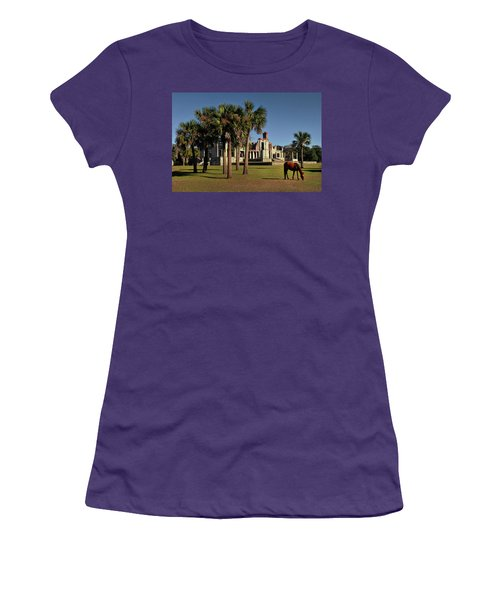 Women's T-Shirt (Junior Cut) featuring the photograph Dungeness  by Jessica Brawley