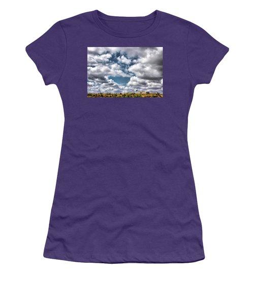 Earthbound - Live Oak Texas Women's T-Shirt (Junior Cut) by Wendy J St Christopher