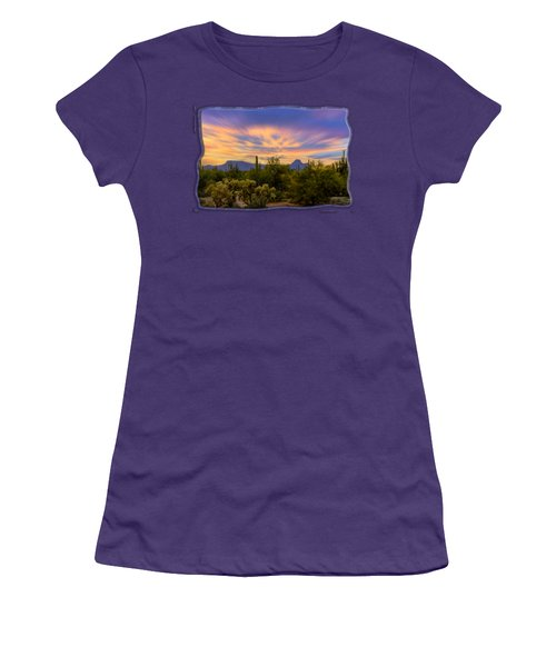 Easter Sunset H18 Women's T-Shirt (Junior Cut) by Mark Myhaver