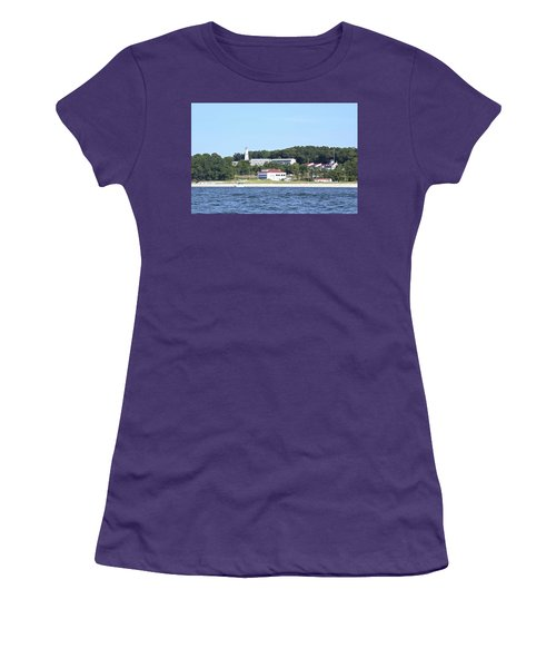 Eatons Neck Lighthouse Women's T-Shirt (Athletic Fit)