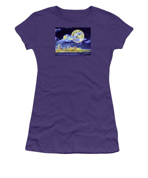Electric Tampa Women's T-Shirt (Athletic Fit)
