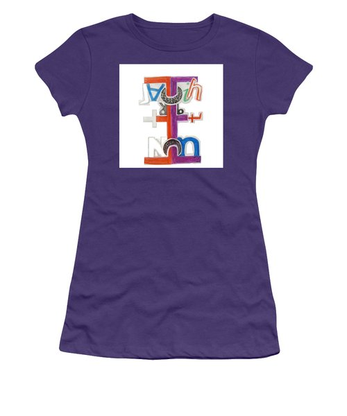 Elephant In The Room - Tee Shirt Art Women's T-Shirt (Athletic Fit)