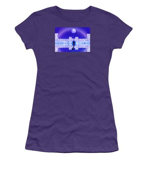 Women's T-Shirt (Junior Cut) featuring the digital art Emily's Journey Part II by Bernd Hau
