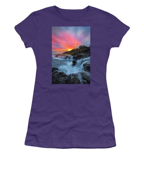 Endless Sea Women's T-Shirt (Junior Cut) by James Roemmling