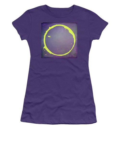 Women's T-Shirt (Junior Cut) featuring the digital art Enso 2017-5 by Julie Niemela