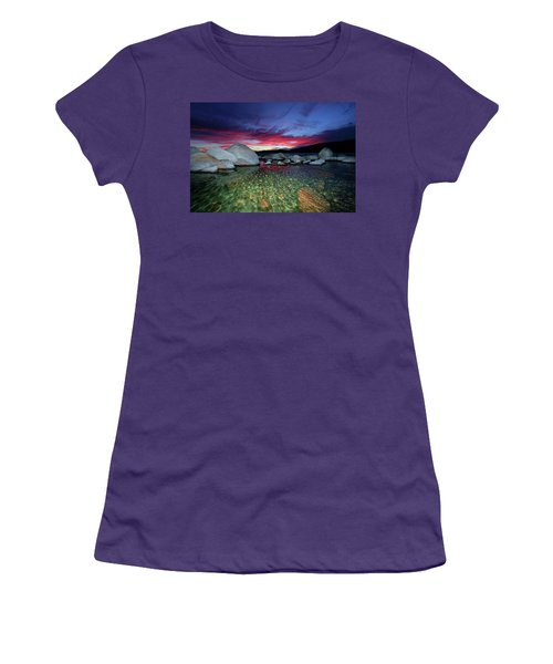 Enter A Tahoe Dream Women's T-Shirt (Athletic Fit)