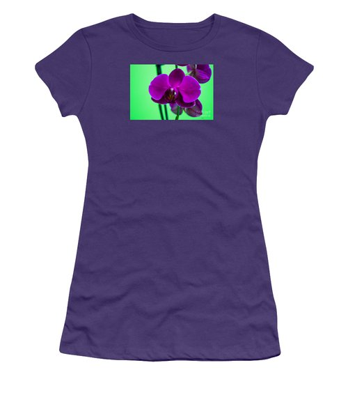 Exposed Orchid Women's T-Shirt (Athletic Fit)