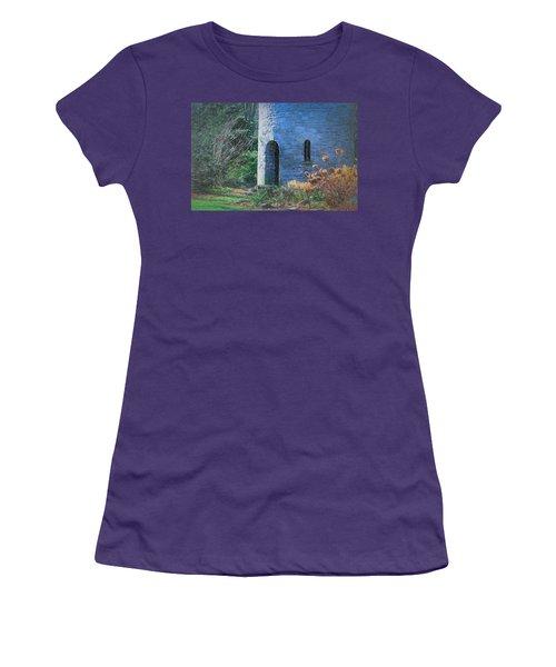 Fairy Tale Tower Women's T-Shirt (Junior Cut) by Patrice Zinck