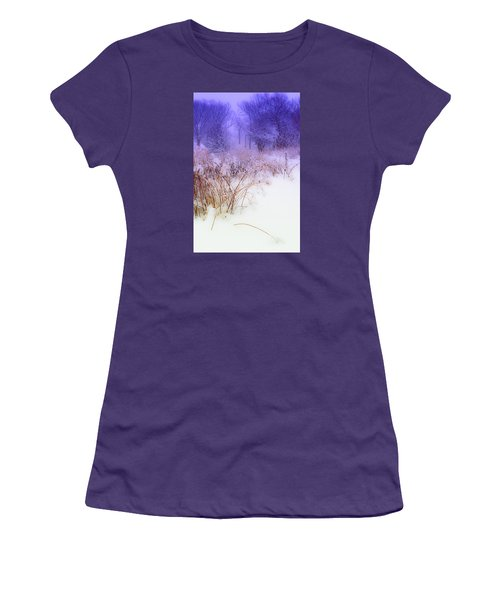 Feel Of Cold Land Women's T-Shirt (Athletic Fit)