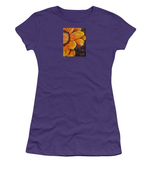 Fiesta Of Courage Women's T-Shirt (Junior Cut) by Lisa Fiedler Jaworski