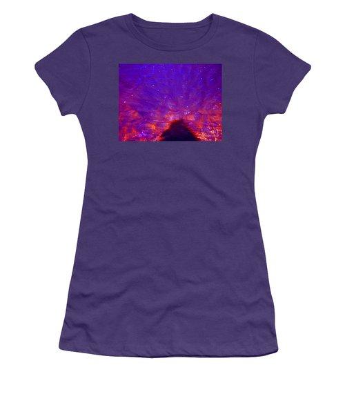 Flourescent Waters Women's T-Shirt (Athletic Fit)
